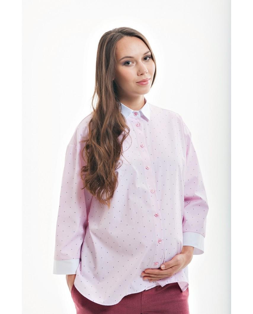 Оверсайз рубашка для беременных