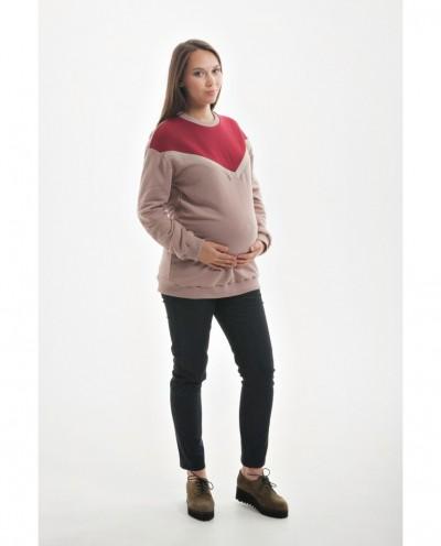 """Джинсы """"стрейтч"""" для беременных с удобной резинкой под растущий животик (чёрный)"""