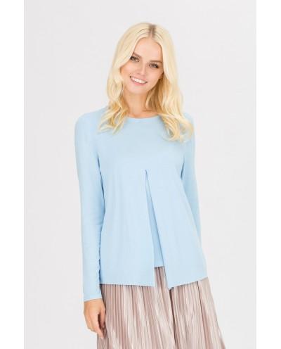 Блуза Верба (голубой)