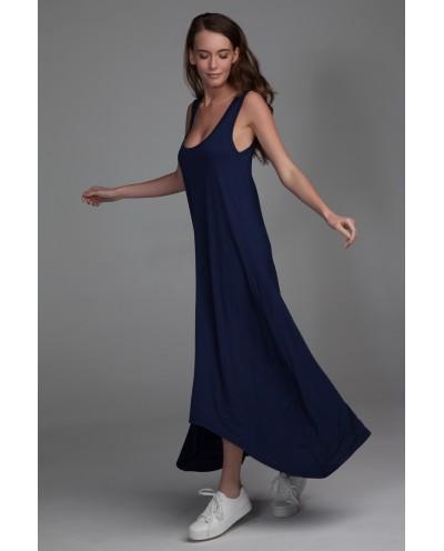 "Платье ""Ласточка"" темно-синее"