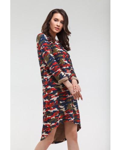 Платье Аника (красный)