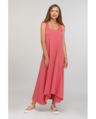 Платье Сойка (брусника)