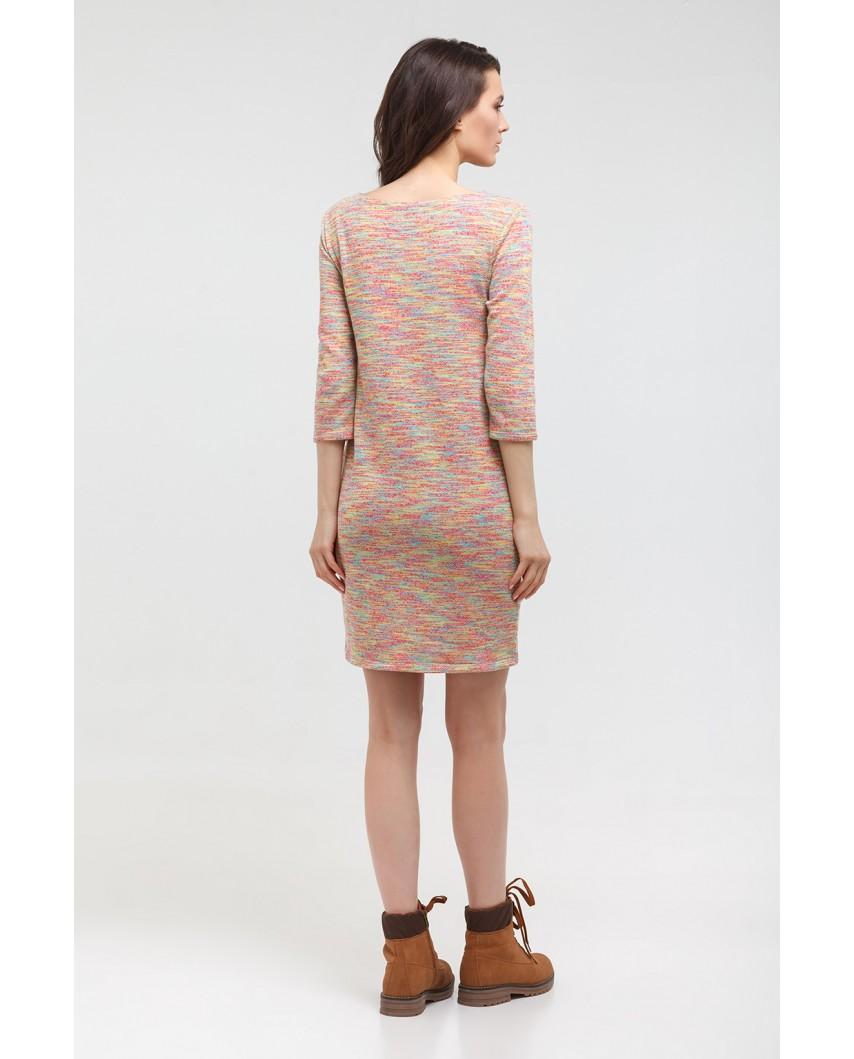 Платье-толстовка (Сорбет) индиго